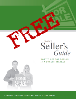 Click here to get your Free Home Sellers Guide